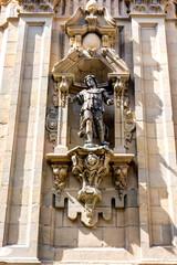 Estatua basilica santa maria del coro
