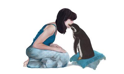 Il bacio di Pinguino