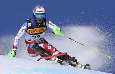 Alpine Skiing - FIS Alpine Skiing World Championships St. Moritz - Men's Slalom