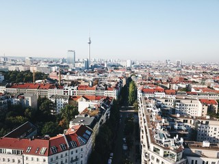 Berlin skyline, view of Alexanderplatz