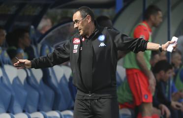 Football Soccer - Empoli v Napoli - Italian Serie A