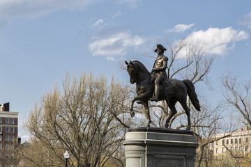 George Wasinghton Statue in Boston
