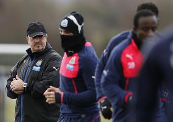 Newcastle United Training