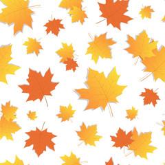 Yellow Wheat Spike Seamless Pattern Autumn Harvest Decoration Banner Vector Illustration