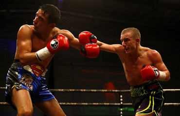 Paul Butler in action with Alexander Cazares