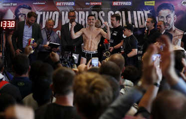 Anthony Crolla & Jorge Linares Weigh-In