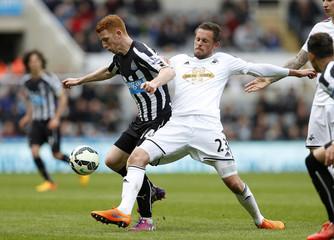 Newcastle United v Swansea City - Barclays Premier League