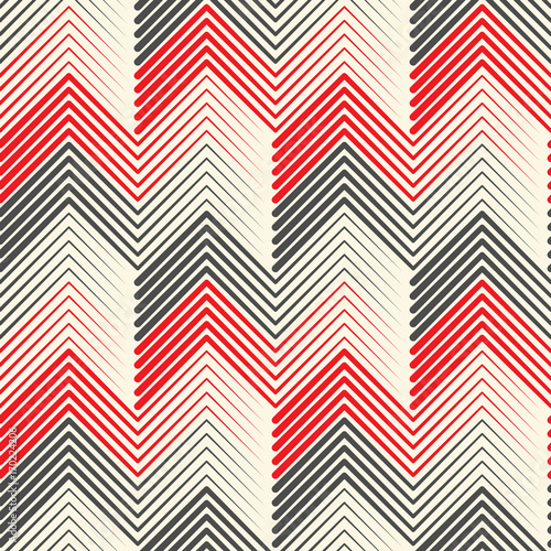 Seamless Zig Zag Wallpaper Geometric Black And White
