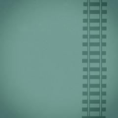 Mint Composite Background Railroad