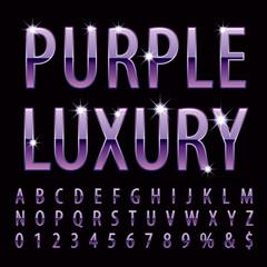 purple luxury