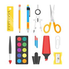 school set stationery.