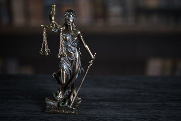 Burden of proof, legal law concept image.
