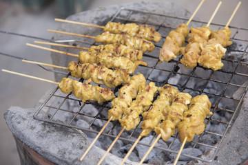 Pork Satay Food Thai