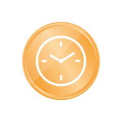 Bronze Münze - Uhr