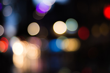 Night light bokeh
