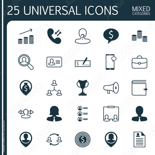 management icons set collection of location hierarchy female pin