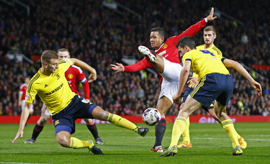 Manchester United v Middlesbrough - Capital One Cup Fourth Round