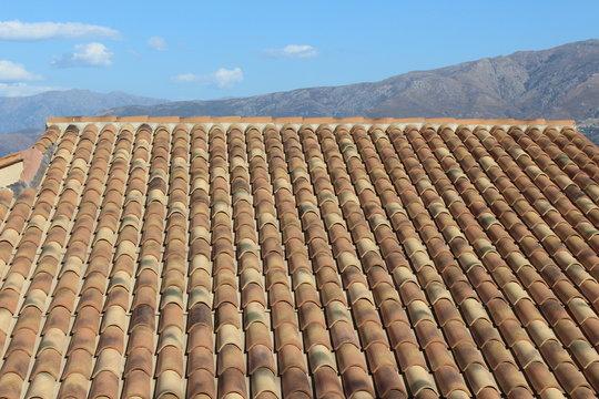 Couverture maison tuile - roof
