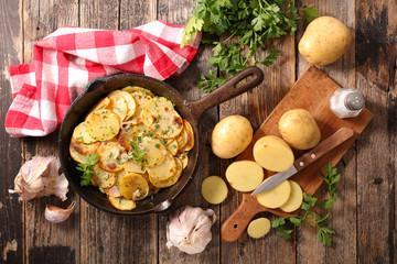 Wall Mural - potato gratin