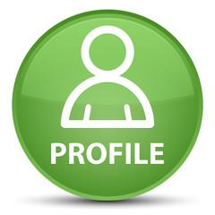 Profile (member icon) special soft green round button