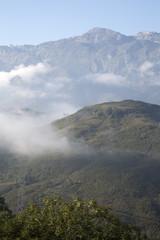 View of Picos de Europa from Escobal; Austurias