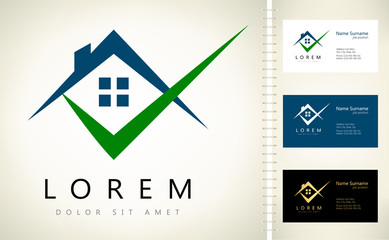 House Vector Logo. Real Estate Logo Design.
