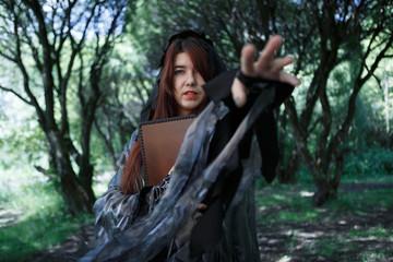 Fantasy photo of black witch