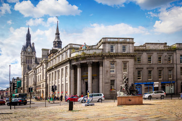 Aberdeen, historic architecture, Town House,  Scotland, Great Britain