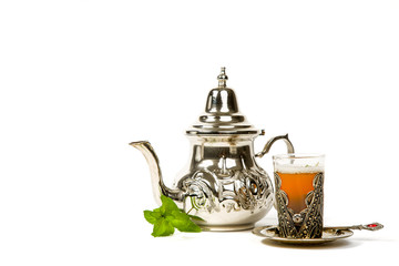 True Moroccan mint tea in the original cup
