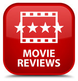 quotmovie reviews blue square button red ribbon in corner
