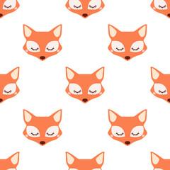Sleepy fox pattern