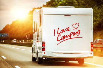 Camping Lover in the Camper