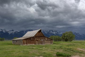 T. A. Moulton Barn im Grand Trenton National Park USA