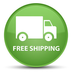 Free shipping special soft green round button