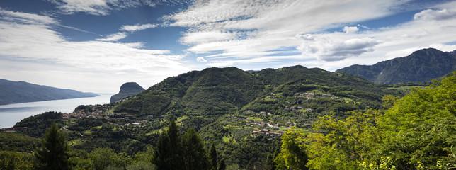 mountains around the Lake Garda