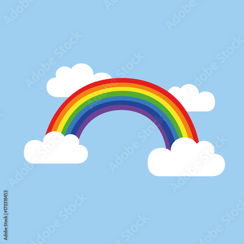 """""""regenbogen im himmel"""" stockfotos und lizenzfreie vektoren"""