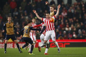 Stoke City v Arsenal - Barclays Premier League