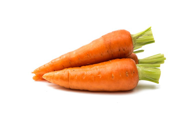 carrots isolated