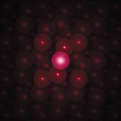 Geometric psychedelic goa wallpaper fractal background.