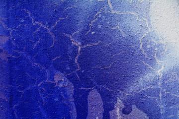 Синий фон с разводами от краски