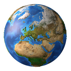 Wall Mural - Planet Earth in high resolution