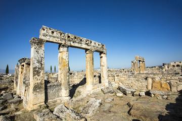 Türkiye Denizli Pamukkale Hierapolis Antik Kenti