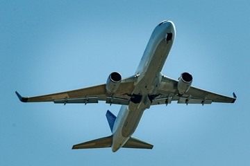 Commercial aircraft flights and activities at Sydney airport Australia.