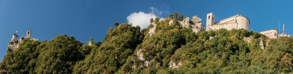 Panoramablick auf San Marino Wall mural