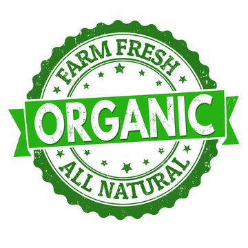 Organic sign or stamp
