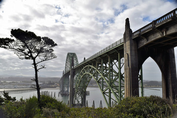 Yaquina Bay Historic Bridge