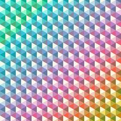 Abstract geometric pattern. Hexagon shape Gradient purple. Vector illustration background.