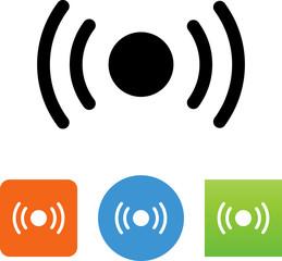Signal Icon - Illustration
