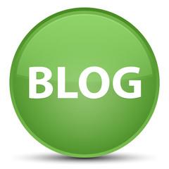Blog special soft green round button
