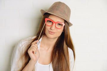 optics glasses concept